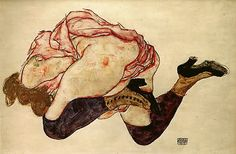 egon schiele was a century austrian painter who was guided and supported by famous painter gustav klimt. Life Drawing, Figure Drawing, Painting & Drawing, Gouache Painting, Gustav Klimt, Dessins Egon Schiele, Edward Hopper, Art Moderne, Art For Art Sake