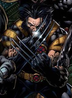 Wolverine by David Finch. Wolverine Comics, Logan Wolverine, Marvel Comics Art, Marvel Comic Universe, Marvel Dc Comics, Marvel Heroes, Logan Xmen, Comic Book Heroes, Comic Books Art