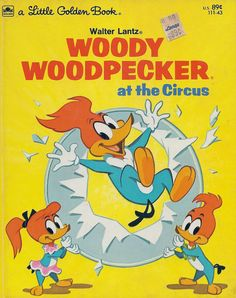 Woody Woodpecker Little Golden Book, 1976