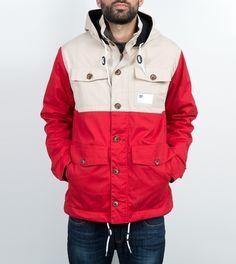 DRMTM Han Coat, sand/red