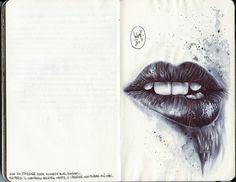 lips by Francesco Salvati
