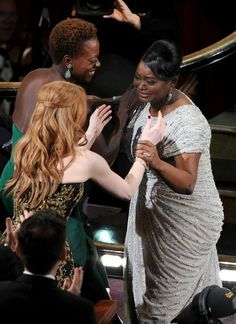 "Jessica Chastain, Viola Davis & Octavia Spencer - Oscars 2012 – FuTurXTV &  Funk Gumbo Radio: http://www.live365.com/stations/sirhobson and ""Like"" us at: https://www.facebook.com/FUNKGUMBORADIO"