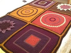 Ravelry $: September Morning Afghan pattern by Julie Yeager