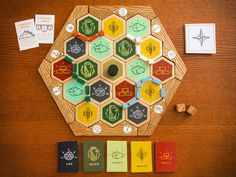 Handmade Catan by Blaise Vincz