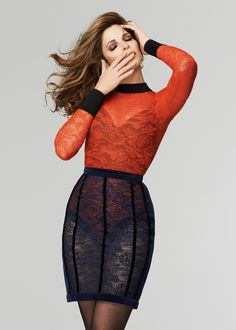 Stephanie Seymour Stars in The Room's Fall 2015 Campaign
