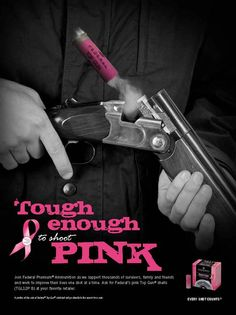 Think PINK:  Federal Premium Shotgun Ammunition for Breast Cancer Awareness.  And yes we carry it in our Greenville store! #pink #breastcancerawareness
