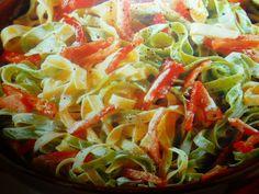 paglia e fieno ricette - al prosciutto