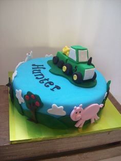 Farm themed cake Auckland $250