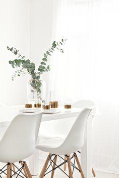 Niels Datema Koper Karaf set by Serax Belgium   Eames Chair from Cult Furniture