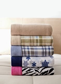 Sunbeam fleece twin sheet set