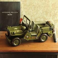 Vintage Antique Style American Army Trucks Metal Model Memory of Old Times Decoration Gift - Gadgets-Novelty - TopBuy.com.au