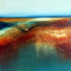 "Saatchi Online Artist: Paul Bennett; Oil 2013 Painting ""Beyond"""