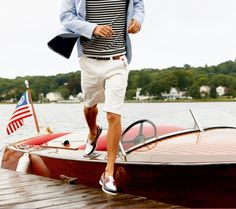 Love this look -- very summery, clean and casual yet sharp
