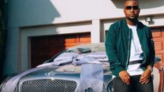 South African hip hop star sells smartphones, brags about money. He talked about what it felt like to drive his new Bentley home to Mafikeng.