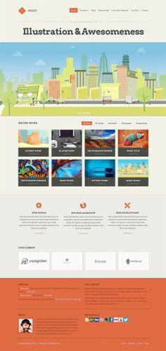 Mozzy WordPress Theme Review - CSSIgniter