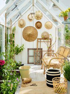 jardin d'hiver, aménagement d'une serre