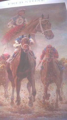 Smarty Jones OakTree Santa Anita 2004 Kentucky Derby & Preakness Stakes Winner