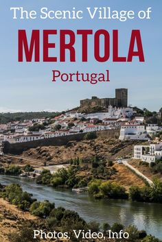 Mertola in Portugal has a beautiful walled village in the center with a long history with Islamic Architectural remnants. Plus with the river, you can see stunning views from the outside! Off the beaten track and worth adding to your Portugal itinerary ! Video, Photos and info to plan your visit in the article | Portugal Travel Guide | Portugal things to do | Portugal photography