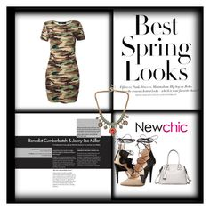 """""""NewChic #15."""" by belma-cibric ❤ liked on Polyvore featuring H&M and Ruthie Davis"""