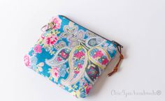 Coin pursemini wallet zipper coin purse key by Chic4youhandmade