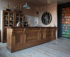 A newly built old English kitchen in the London flat of designer Patrick Williams of Berdoulat | Remodelista