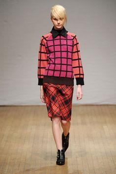 Love the check patterns!  Fall Fashion 2013 Plaid Clements Ribeiro