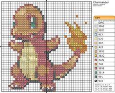 Pokemon Patterns by Makibird-Stitching on DeviantArt Pokemon Charmander, Pokemon Pokedex, Pikachu, Cross Stitching, Cross Stitch Embroidery, Embroidery Patterns, Cross Stitch Designs, Cross Stitch Patterns, Animals