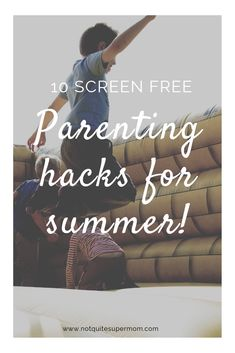 You will love this list of brilliant hacks for parents to limit screens this summer. Learn ways to encourage your kids to have a screen free summer! Free Activities, Educational Activities, Summer Activities, Kids Book Club, Book Club Books, Parenting Advice, Kids And Parenting, Free Summer, Summer Fun