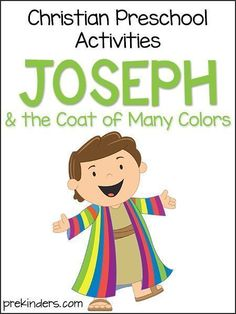These Joseph activities can be used in Christian Preschool programs and Sunday schools. You'll love these easy cards for your children to fill out. These activities from PreKinders are super fun and will help children love the story of Joseph! Preschool Bible Lessons, Preschool Programs, Bible Crafts For Kids, Bible Lessons For Kids, Kids Bible, Joseph Activities, Bible Activities, Preschool Activities, Bible Resources