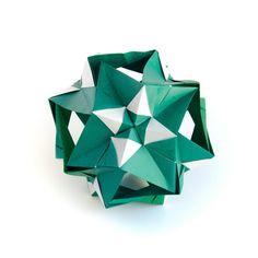 ? #origami #kusudama