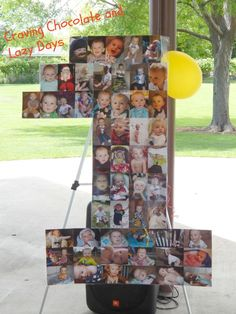 1st Birthday Photo Collage