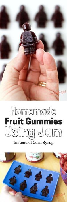 Homemade Fruit Gummies Using Jam Zero Corn Syrup. This recipe has two ingredients in it and it is super simple to create. featuring @felixjams #ad
