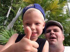 Thumbs up for the tropics! #tembustravels