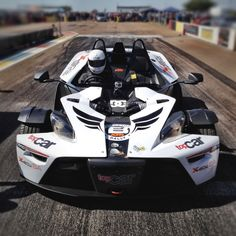 The KTM X-bow from Blacktop Rally. I got to drive this exact machine around Kyalami. It's amazing fun.