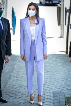 Spanish Royalty, World Cancer Day, Spanish Royal Family, Queen Letizia, Royal Fashion, Suit Jacket, Royals, Suits, Princess