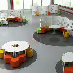 Agile - additional petal table - Modular Furniture - School