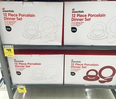 Just $10 for this 12 pce porcelain #dinnerset originally priced at $25.50 Take your pick of white or red.  #onsale at #woolies #bargain ! . . . . #dinnersetting #tableware #crockery #kitchenware #kitchenbasics #onabudget #homewares #halfprice #betterthanhalfprice #discounted #reducedprice #clearance #bargainshopper #cheapfind #woolworths #whypaymore #smartshopper #savvyshopper #savvysaver #sep16