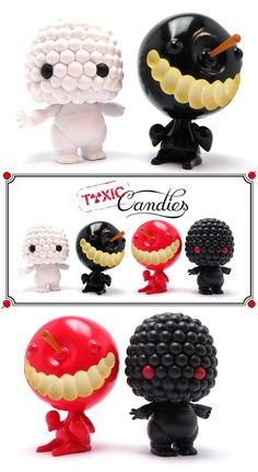 """Toxic Candies: Berry & Pomme d'Amour"" by Artoyz on Kickstarter!!!"