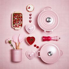 Le Creuset La Marmite 22 cm Chiffon Pink Bleywaren