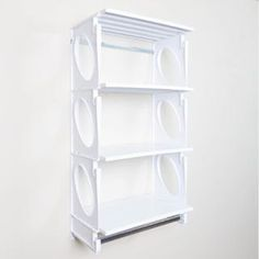 Get organized with @kiostorage shelving and closet kits! Shown here is a 2 foot KiO kit with extra shelves in color white. With this kit you can have shelving and storage in a closet, kitchen, pantry, office, kids room, studio, dorm room garage, etc. in about hour. There are so many possible uses for KiO shelving!! For more info and ordering please click in our bio.  #kiostorage #kio #keepitorganized #closets #shelving #diy #closetkit #shelvingunit #polycarbonate #openshelving…