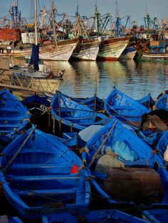 Colors from Morocco, most westerly of the North African countries.