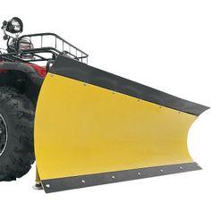Rubber sling plow