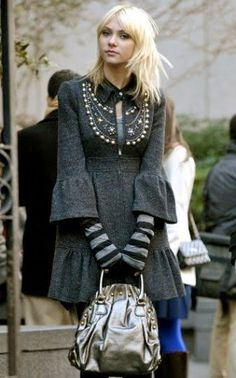 Don't like Jenny on Gossip Girl, but love this coat ...