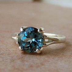 London blue topaz ring. *swoon*