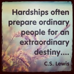 One of my favorite quotes  - Love C.S. Lewis.  What an inspiring man.  #quotes
