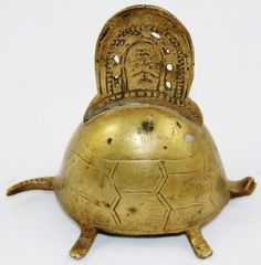 Unusual Vintage Chinese Brass Turtle Table or Service Bell Dinner Asian Tortoise | eBay