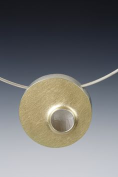 Hollow-form Necklace by Lona Northener Jewelry