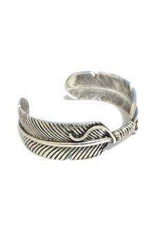 Bracelet jonc wild argenté