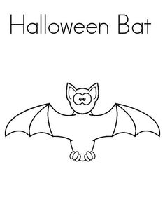 Vampire Bat Coloring Page Bats Worksheets and Teaching colors