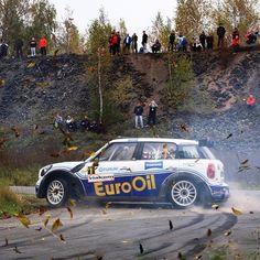 Vaclav Pech #mini #rally #sideways #vaclavpech #vsco #worldofrally @mini